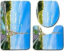HNYF badgarnitur Eiffelturm Landschaft 3D Drucken