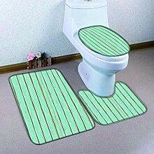 HNYF badgarnitur Grüne Streifen 3D Drucken