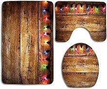 HNYF badgarnitur Holzmaserung Beleuchtung 3D
