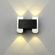 HNZZN Dekorative Wandlampe 85-265V 4W führte