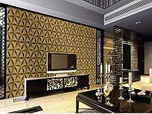 HNZZN KTV Luxus Gold Folie Rhombus abstraktes
