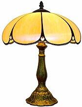 Hobaca® 12 Zoll Bernstein Glas Tiffany Luxus