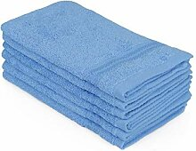 Hobby Badtextilien Sets, 100% Baumwolle, Blau, 30