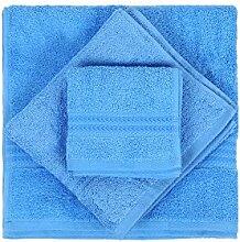 Hobby Badtextilien Sets, 100% Baumwolle, Blau, 80