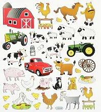 Hobby Design Sticker * Bauernhof * Aufkleber