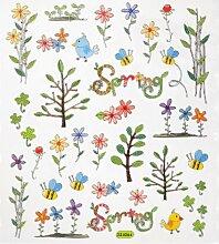 Hobby Design Sticker * Blumen und Zweige Frühling