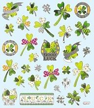 Hobby Design Sticker * Glücksklee Kleeblatt *