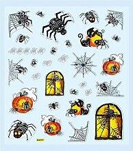 Hobby Design Sticker * Halloween I Geist Spinne *