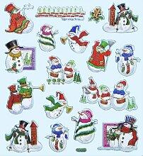 Hobby Design Sticker * Schneemann Winter *