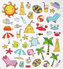 Hobby Design Sticker * Sommer - Urlaub - Strand -