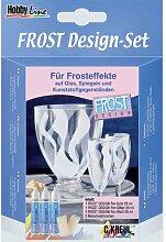 Hobby Line 'Frost Design'-Set, 3 Farben +