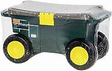 Hobby- und Gartenwagen grün / gelb Kunststoff