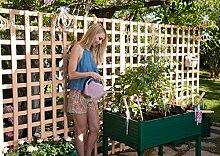 Hochbeet für Terrassen / Garten. 90x60x75 cm.