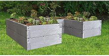 Hochbeet Timber Ergoline Variable Aufbauweise