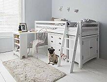 Hochbett Dieses lackierte Bett Einzelbettgestell