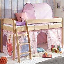 Hochbett Michelle 20702 Kinderbett Bett Kinderzimmer Stoffset Disney Cinderella