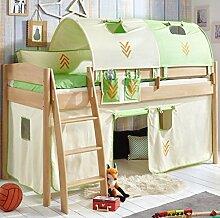 Hochbett Michelle 20710 Kinderbett Bett Kinderzimmer Stoffset Indianer