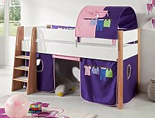 Hochbett SAM 2 Kinderbett Spielbett halbhohes Bett