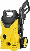 Hochdruckreiniger Hoch Druck Reiniger für Garten Auto mit Hochdruckpistole 2 Düsen Wasserfilter Schnell Verbinden Seifenflasche Schraubendreher (1500 W)