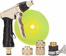 Hochdruckreinigung Auto Bürste Wasser Pistole Haushalt Alle Kupfer Spray Düse Gießen Blumen Paket Anti - Freeze Explosion - Proof Tube ( Farbe : B )