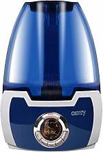 Hocheffektiver Ultraschall Luftbefeuchter mit LCD Display | Timer Regler | Ionisator | 5,8 Liter / 330 ml/Stunde |