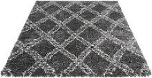 Hochflor-Teppich Ethno 8699, Sehrazat, rechteckig,