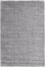 Hochflor Teppich Genf, grau (50/80 cm)