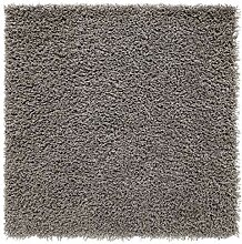 Hochflor Teppich HAMPEN grau