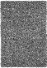 HOCHFLORTEPPICH 120/120 cm  Grau