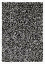 HOCHFLORTEPPICH  Dunkelgrau, Grau, Hellgrau, Silberfarben 200/200 cm