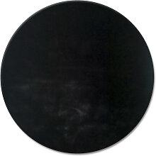 HOCHFLORTEPPICH  gefärbt Schwarz