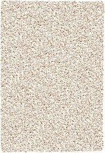 HOCHFLORTEPPICH gewebt Creme 240/300 cm