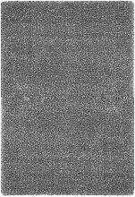 HOCHFLORTEPPICH  Grau 120/120 cm