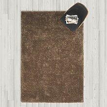 Hochflorteppich in Braun ca.160x230cm