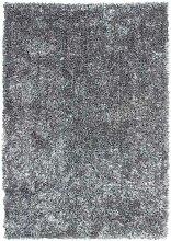 Hochflorteppich in Grau 8 cm hoch