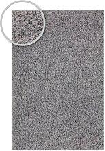 Hochflorteppich LIVORNO Silber 90 x 160