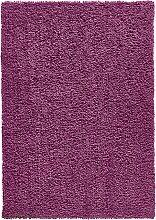 Hochflorteppich Palma, lila (50/90 cm)