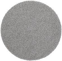 HOCHFLORTEPPICH  Silberfarben