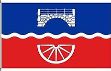Hochformatflagge Brügge - 150 x 400cm - Flagge und Fahne