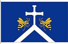 Hochformatflagge Högersdorf - 150 x 400cm - Flagge und Fahne
