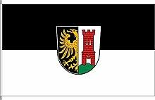 Hochformatflagge Kempten (Allgäu) - 80 x 200cm -