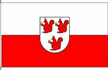Hochformatflagge Otterberg - 80 x 200cm - Flagge