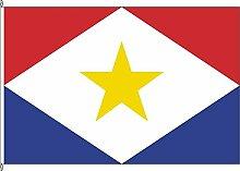 Hochformatflagge Saba - 80 x 200cm - Flagge und Fahne