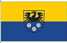 Hochformatflagge Wertheim - 80 x 200cm - Flagge und Fahne