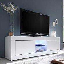 Hochglanz TV Lowboard mit LED Beleuchtung 180 cm
