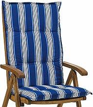 Hochlehner Auflagen Rio 20581-110 blau-weiß gestreift 118 x 49 cm lang ohne Sessel
