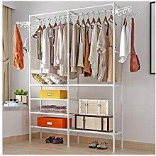 Hochleistungs-Kleiderstange, Große Garderobe