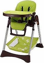 Hochstuhl Babystuhl / Stuhl / beweglicher Klappstuhl / Stuhl / Multifunktions-Bb-Schemel / Plastikklappstuhl / Sicherheitsstuhl (3 Farben wahlweise freigestellt) ( farbe : A )