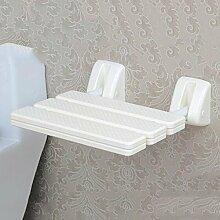 Hochstuhl Bad Hocker / Dusche Hocker / Wand Stuhl / Klappstuhl / Dusche Stuhl / (2 Farben optional) ( farbe : A )
