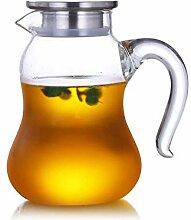 Hochtemperaturbeständige Glas Teekanne Große